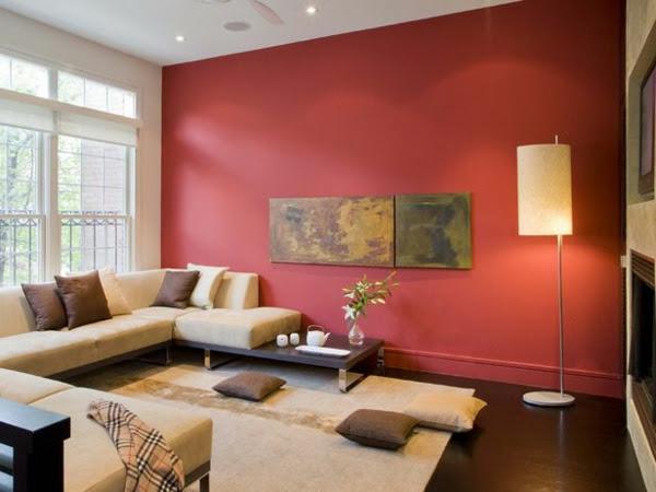 Rote Wand - 50 Ideen mit Wandfarbe Rot