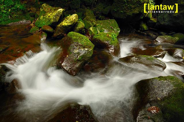 Downstream from Bukal/Bucal Falls aka Kilangin Falls