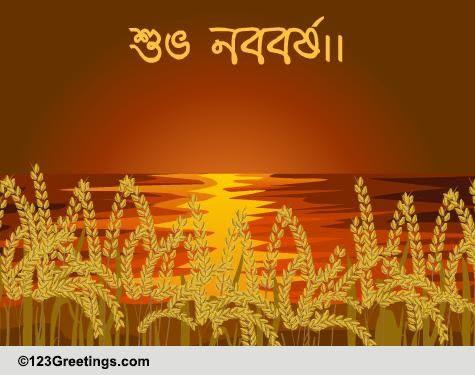 Wish A Happy Bengali New Year Free Bengali New Year Ecards 123