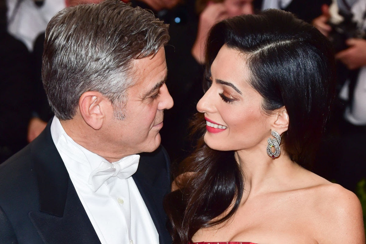How George and Amal Clooney Prepare for Their Twins