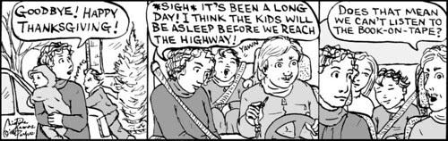 Home Spun comic strip #295