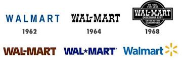Evolution Walmart Logo History