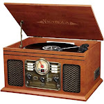 Victrola Classic VTA-200B Nostalgic Audio System - Mahogany