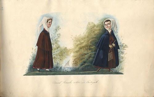 Usual female attire in Portugal