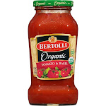 Bertolli Organic Tomato & Basil Pasta Sauce - 24oz