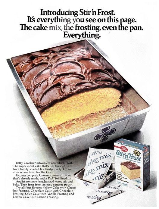 vintage Stir 'n Frost Cake Mix