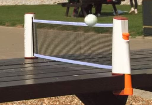 Retractable Ping Pong Net and Set - Table Tennis Spot