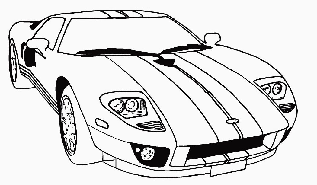 Download Free Printable Race Car Coloring Pages For Kids