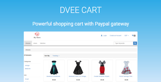 Dvee Cart: E-commerce with Paypal - Theme88.Com – Free Premium Nulled Cracked Themes & Plugins & PHP Scripts and More
