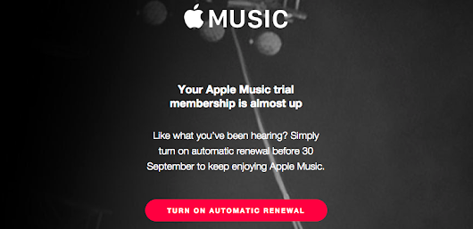 How to turn off auto-renewal for Apple Music