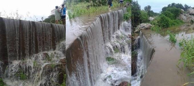 Vários reservatórios já estão sangrando na Zona Rural de Jardim do Seridó