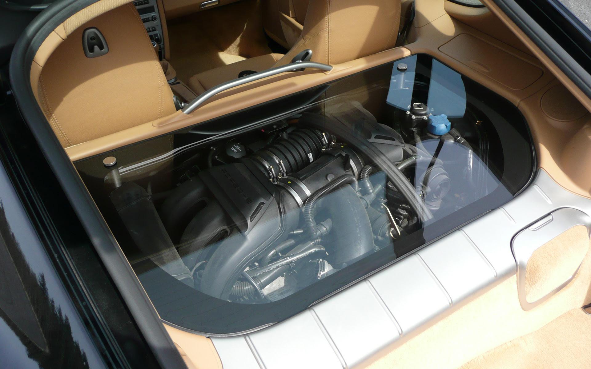 Cayman Clear Engine Cover 6speedonline Porsche Forum