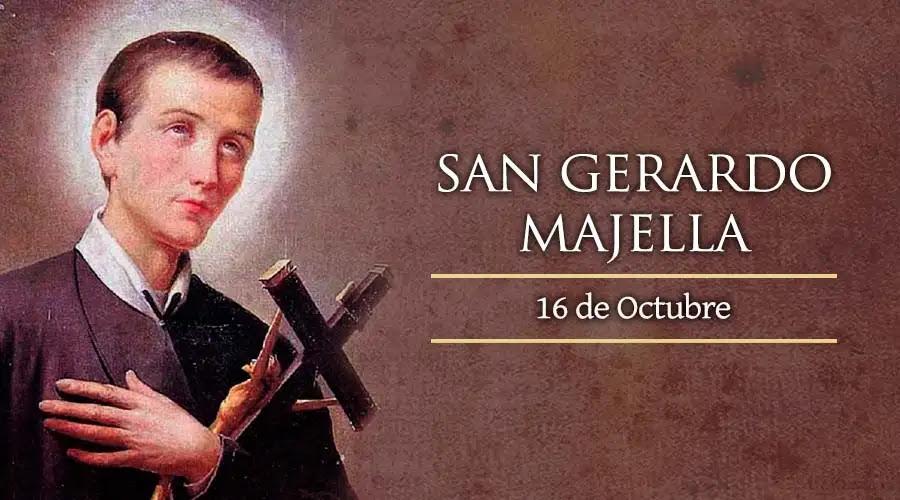 #Santoral | Hoy la Iglesia recuerda a San Gerardo Mayela