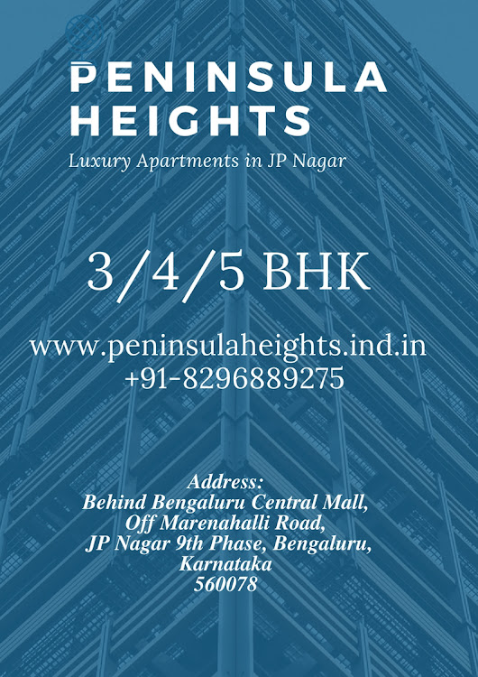 Peninsula Heights: A Perfect Residence with Magnificent Flooring Plan
