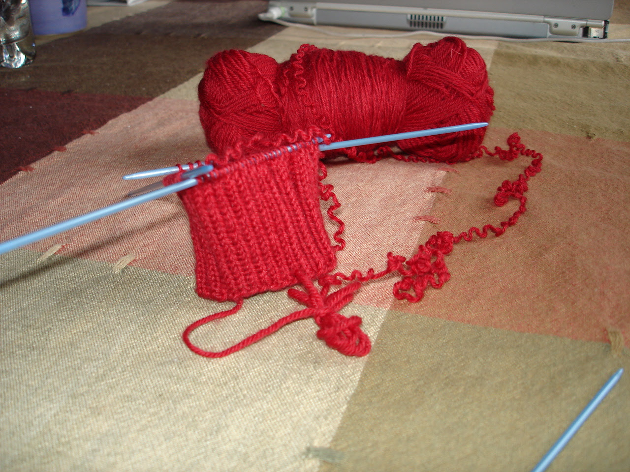 Back on the needles again