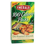 Emerald Dry Roasted Almonds - Almond - Packet - 0.63 Oz - 7 / Box (34895)