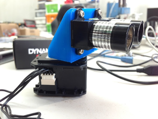 Lidar Lite mount for Dynamixel by Camow7
