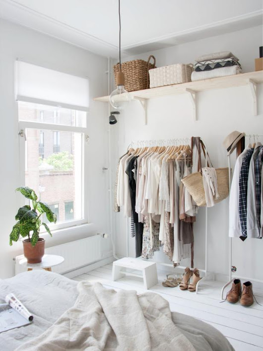 No Closet? No Problem! Try These 12 Alternative Clothes Storage Ideas