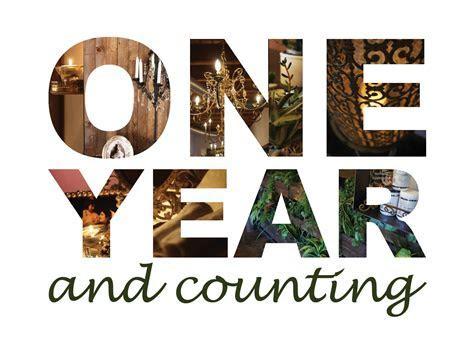 Hooray .its our 1 year anniversary   MJ Harris Flooring