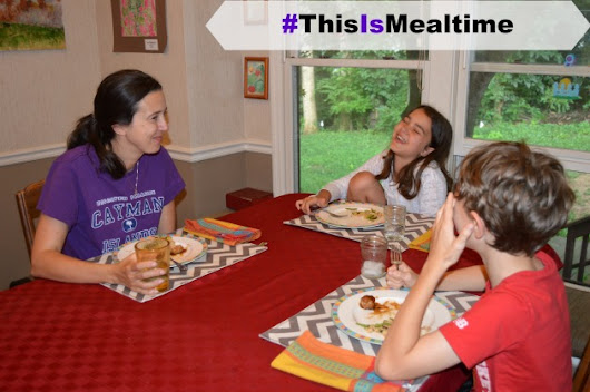 Is Your Family Eating Together? Take The Mealtime Movement Challenge - Family Focus Blog