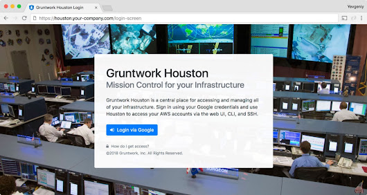 Gruntwork Houston, a fundamentally better DevOps experience, is now in beta!