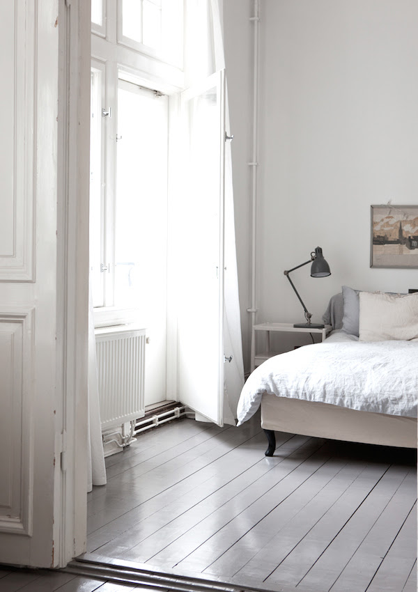Design Space: Painted floorboards are cheap and trendy ...