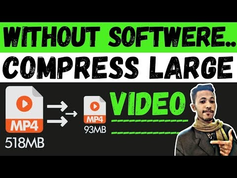 How to Compress a Video File without softwere   How to Make Video Files Smaller   Without Losting File