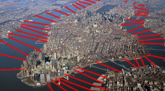 Manhattan would need 48 new bridges if everyone drove. Here's what it would look like