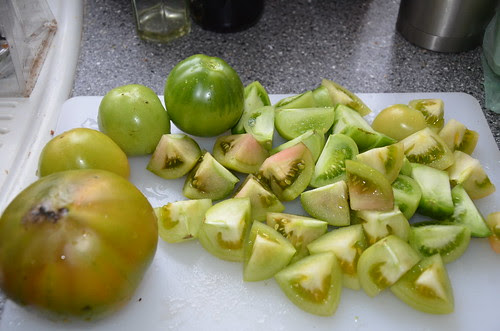 green tomatoes Sept 13