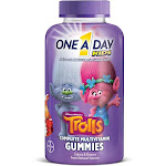 One A Day Kids Kids Complete Multivitamin, Children's, Gummies, Dreamworks Trolls - 180 gummies