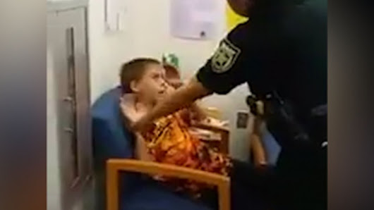 Mom Records 10-Year-Old Autistic Son Getting Arrested