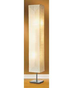 Paper Lantern Floor Lamps on Square Paper Shade Floor Lamp   Review  Compare Prices  Buy Online