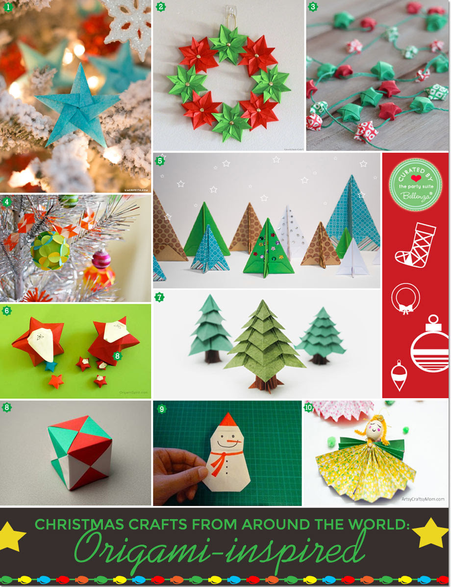 Origami Diy Christmas Decorations