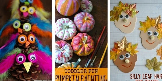 Fall Crafts For Kids: 18 Ideas To Welcome The Season