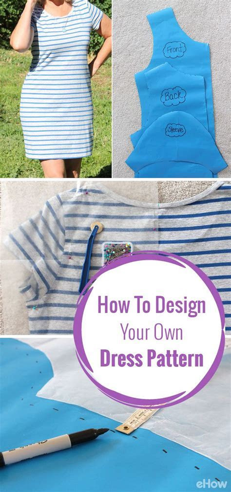 How to Design Your Own Dress Pattern   DIY Fabric Crafts
