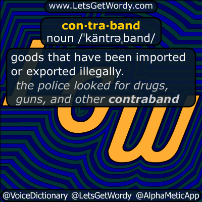contraband 07/11/2017 GFX Definition