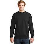 Hanes Comfort Blend Eco Smart Crew Sweatshirt, Black