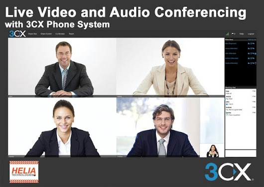 Video Conferencing and 3CX Phone System -  | 3CX Office Phone Systems
