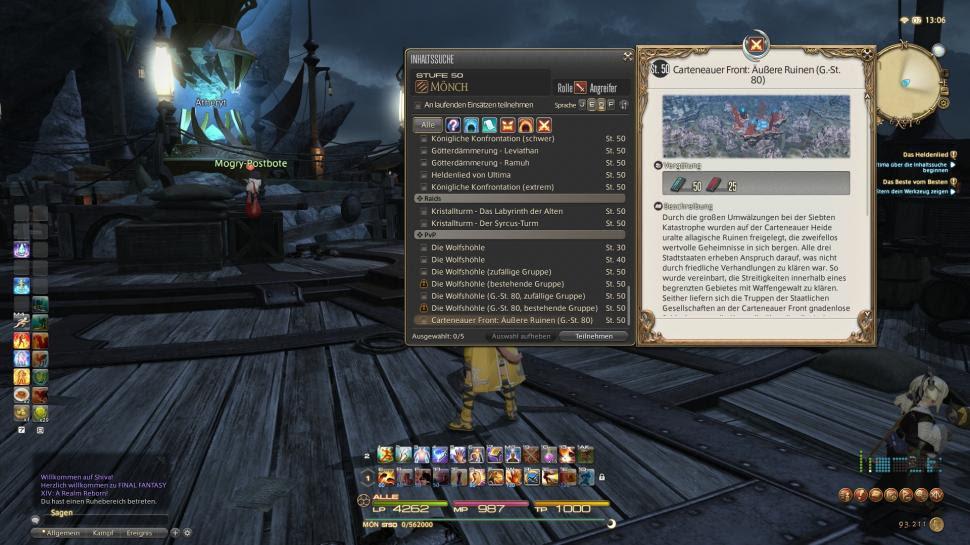 Final Fantasy 14 So Geht Pvp In Eorzea Wolfshöhle Und Carteneauer