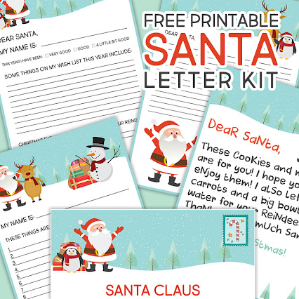 free printable letter to and from santa sohosonnet andrea cammarata 472