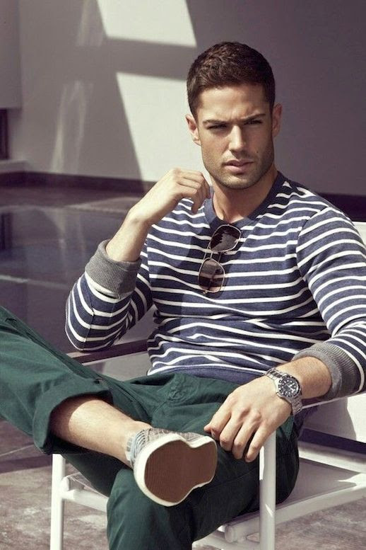 25 Stylish Hot Guys In Stripes -- Green Pants and Sneakers -- Mens Style -- Via Line Out Magazine photo 21-25-Stylish-Hot-Guys-In-Stripes-Green-Pants-Sneakers--Mens-Style-Via-Line-Out-Magazine.jpg
