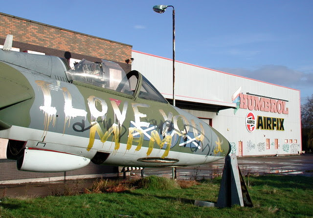 Image result for humbrol hawker hunter hedon road