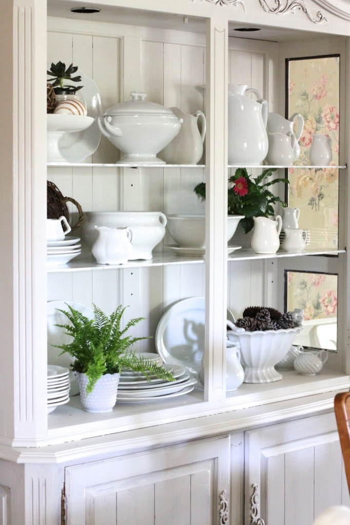 Styled China Cabinet| Love of Home