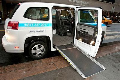 2014 Production Launch Of Universally Accessible Mv 1