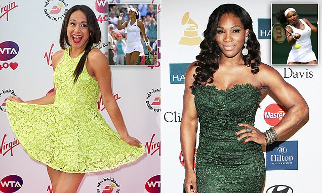 Heather Watson takes on the diva in tennis Serena Williams at Wimbledon 2015