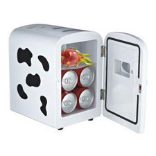 Quirky Cow Portable Mini Freezer For Car And Home Use