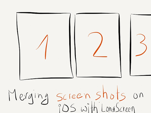 Merging screen shots on iOS with LongScreen – RocketINK