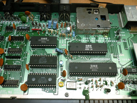 Commodore 16 & Plus 4 8501 to 6510 CPU conversion – Hackjunk.com