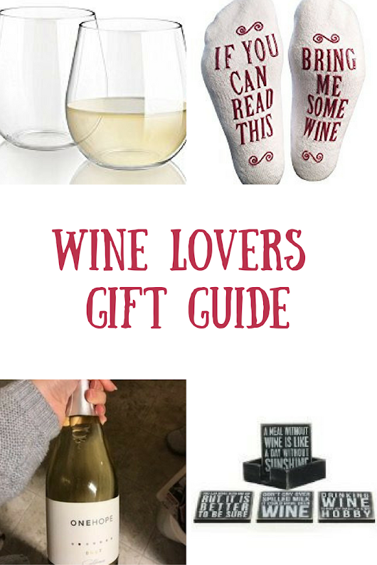 Wine Lovers Gift Guide - Wine in Mom