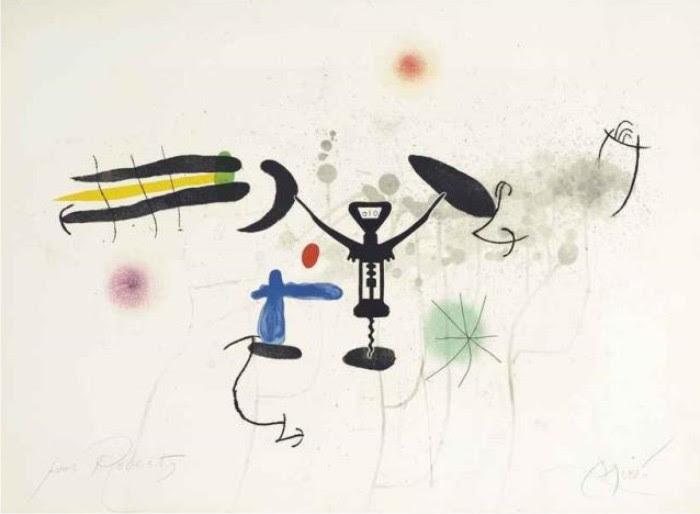 Le troubadour, de Joan Miró.